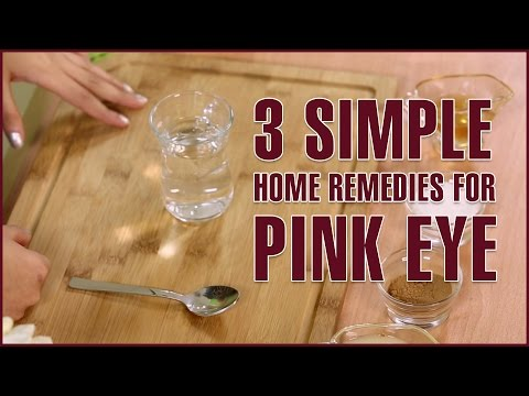 Simple Natural Home Reme For Pink Eye Treatment