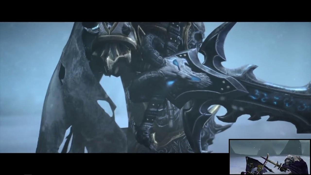 Warcraft Iii Reforged Teaser Du Combat Arthas Vs Illidan Youtube
