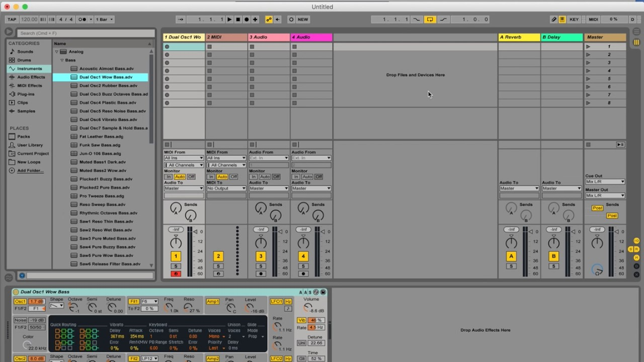 Hooking Ableton Live 9 with Logic Pro X