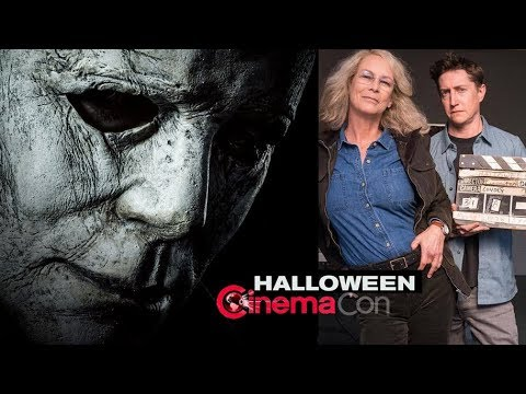 Cinemacon 2020 Halloween HALLOWEEN TRAILER REACTION   (2018) Jamie Lee Curtis Horror Film