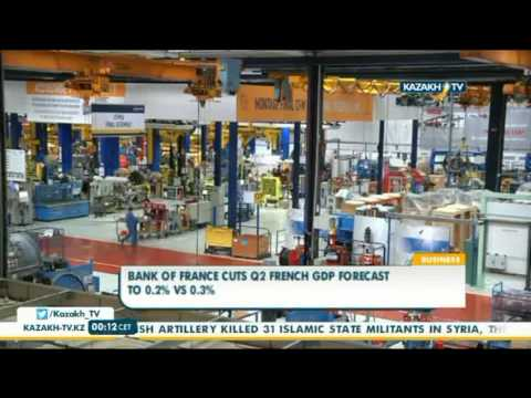Bank of France cuts Q2 french GDP forecast to 0.2% VS 0.3% - Kazakh TV