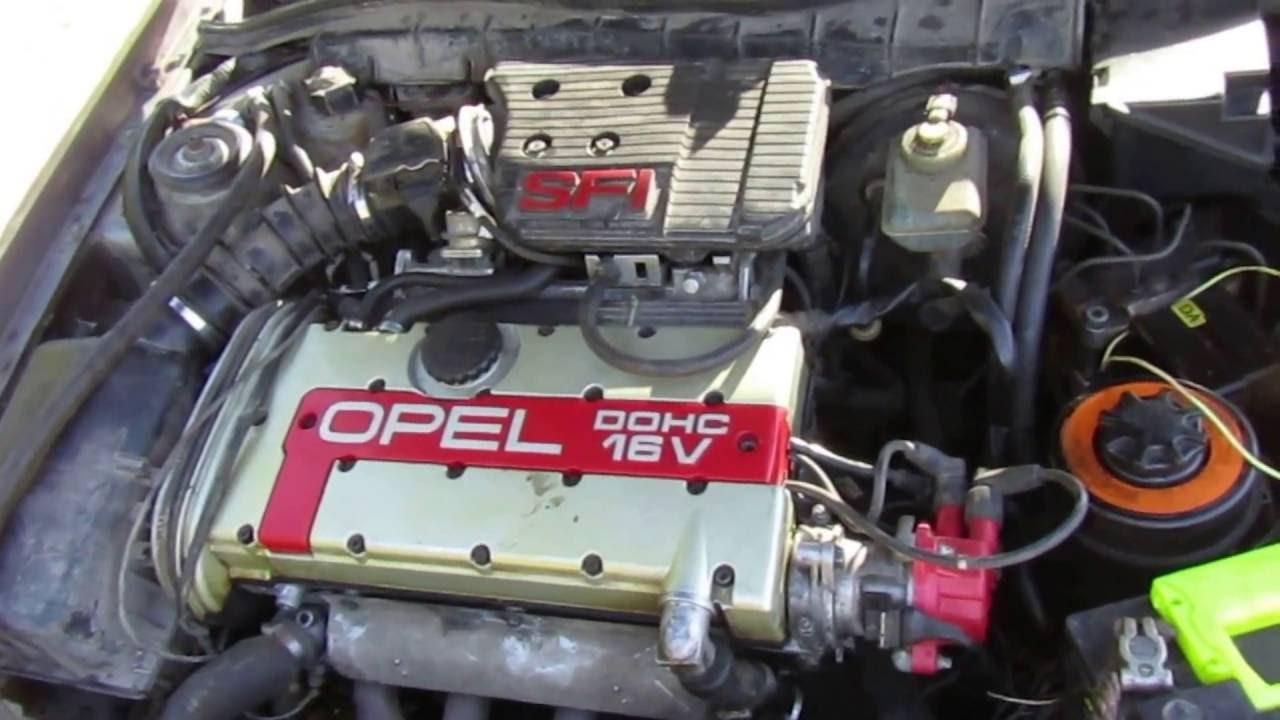 Мелкий ремонт мотора c20xe Opel