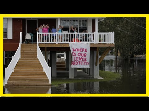 Coastal Communities in Louisiana Grapple with Rising Sea Levels As Americans Accept the Realities o