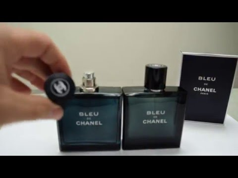 Real Vs Fake Bleu De Chanel Youtube