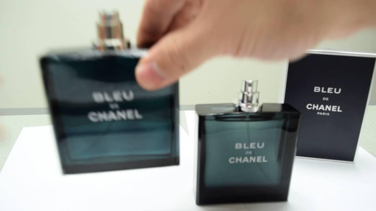 dd5395320 Real vs Fake Bleu De Chanel - YouTube