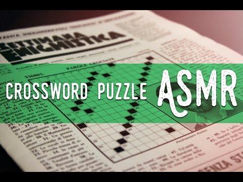 ASMR ita - Whispering and Crossword Puzzle (Settimana Enigmistica)