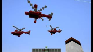 видео: Вертолёт в minecraft 2019