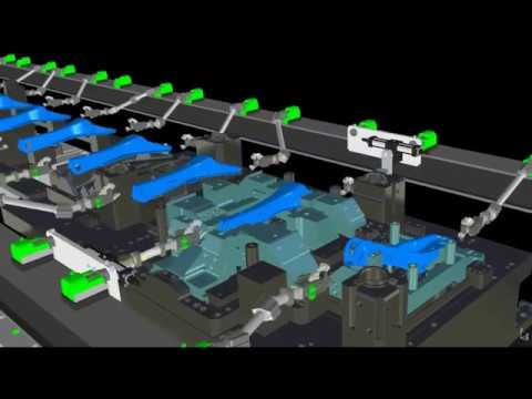 Transfer Press Simulation Software