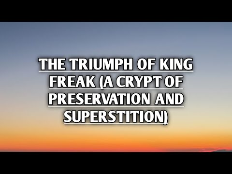 Rob Zombie - The Triumph of King Freak [A Crypt of Preservation and Superstition] (Lyrics)