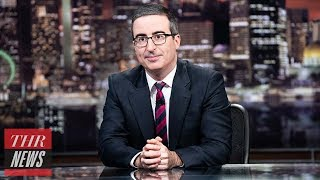 John Oliver Blasts New U.K. Prime Minister Boris Johnson on 'Last Week Tonight' | THR News