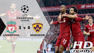 Liverpool vs Maribor 3-0 UCL - All Goals & Extended Highlights 02/11/2017