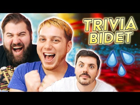 This Game Show is TERRIBLE! | (TRIVIA BIDET + MOVIE MOVIE GAME) ft. SMOSH GAMES