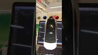 AR demo: Tesla car model can change its color once tapped