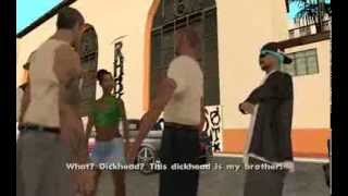 GTA San Andreas - Cesar Vialpando (Sweet Mission #7) - from the Starter Save - Mission Help