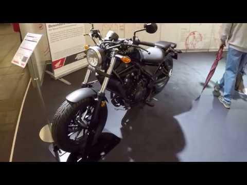 honda cmx 500 rebel new model custom cruiser bike black colour walkaround youtube. Black Bedroom Furniture Sets. Home Design Ideas