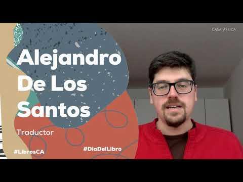 #DíaDelLibro2021   Alejandro de Los Santos