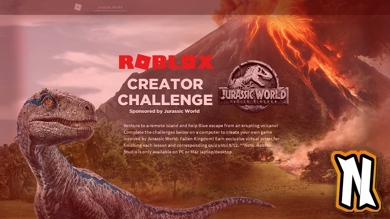 Roblox Jurassic World Creator How To Get The Jurassic World Headphones Bag And Cap Roblox Creator S Challenge Event 2018 Youtube