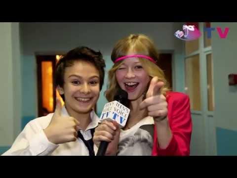 Teens Voice на съемках сериала Классная Школа