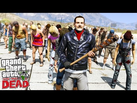 THE WALKING DEAD #20 INVASION DE ZOMBIE DANS LE DESERT ! (GTA 5 MODS)