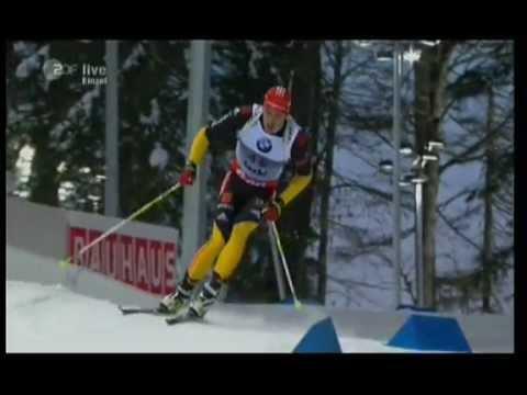 Biathlon Einzel der Männer in Sochi 2013