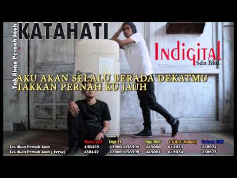 KATAHATI - Tak Akan Pernah Jauh (Official Lyric Video)