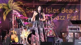 LourdesValentin - South Florida Jazz Vocalist at Sunny Isle Beach Jazz Fest 2016