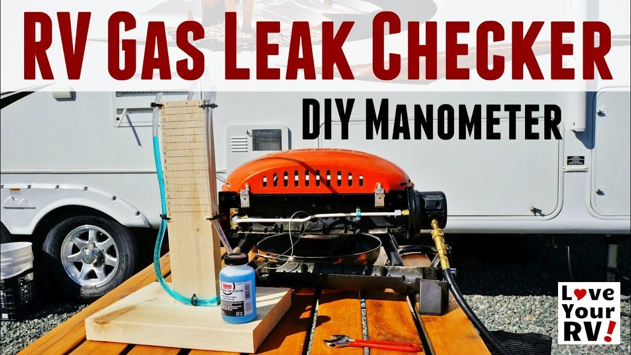 Simple DIY Manometer RV LP Gas Leak Checker - YouTube
