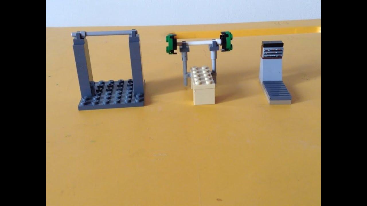 Como hacer un gimnasio de lego youtube - Como hacer un gimnasio ...