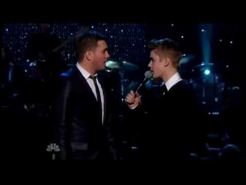 Justin Bieber   Mistletoe   Live on A Michael Buble Christmas