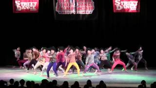 【TDC】2015年 登美丘高校ダンス部  HIGHSCHOOL STREET DANCE CHAMPIONSHIP 高校ストリートダンス部選手権 2015