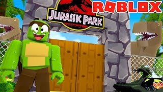 Roblox - JURRASIC PARK SIMULATOR #2 w/LittleLizard