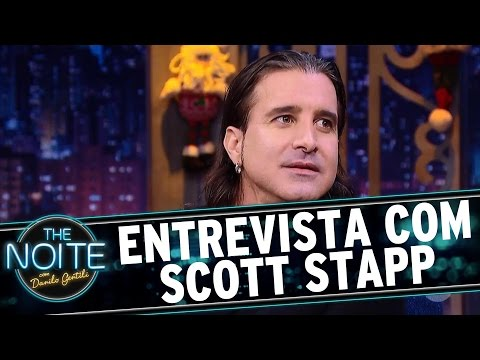 Entrevista com Scott Stapp, ex-Creed   The Noite (12/12/16)