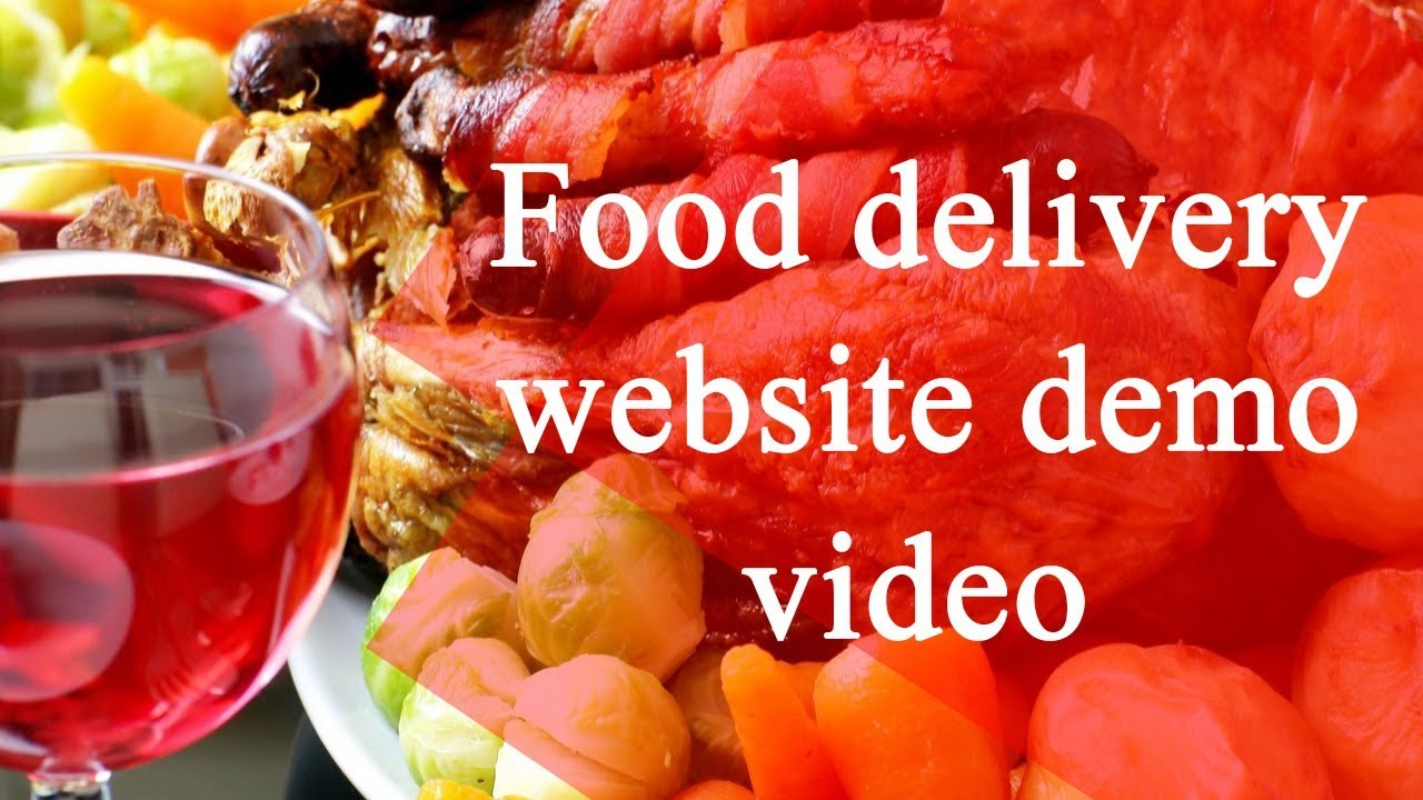 online food ordering website demo video - Foodpanda clone