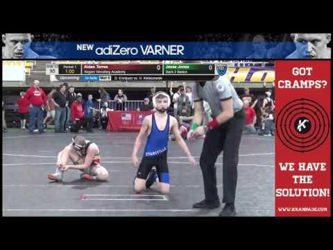 5172 Novice 112 Mat 12 Charlie Braunschweig Evansville Demons Wrestling Cl vs Gunner Henry Hoosier E