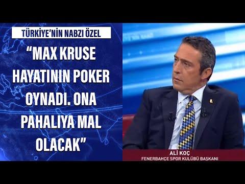 Ali Koç: Max Kruse hayatının poker oynadı. Ona pahalıya mal olacak...