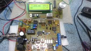 EFE-40m SSB QRP Transceiver prototype
