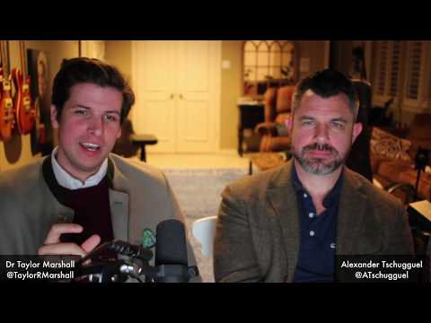 LIVE Q&A with: Taylor Marshall & Alexander (the Idol Dunker) Tschugguel