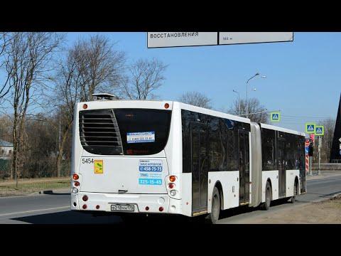 """Автобус 81 """"Счастливая ул.-пос. Торики""""."""