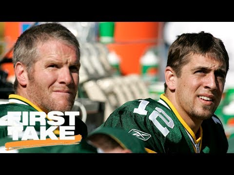 Would Brett Favre Coaching Help Or Hurt Aaron Rodgers? | First Take | June 30, 2017