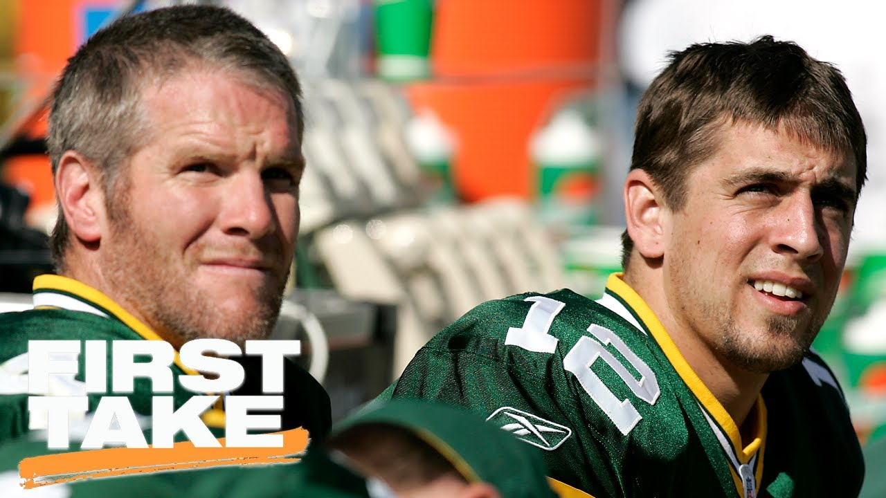 Leaves Are Turning And Brett Favre Is >> Would Brett Favre Coaching Help Or Hurt Aaron Rodgers First Take