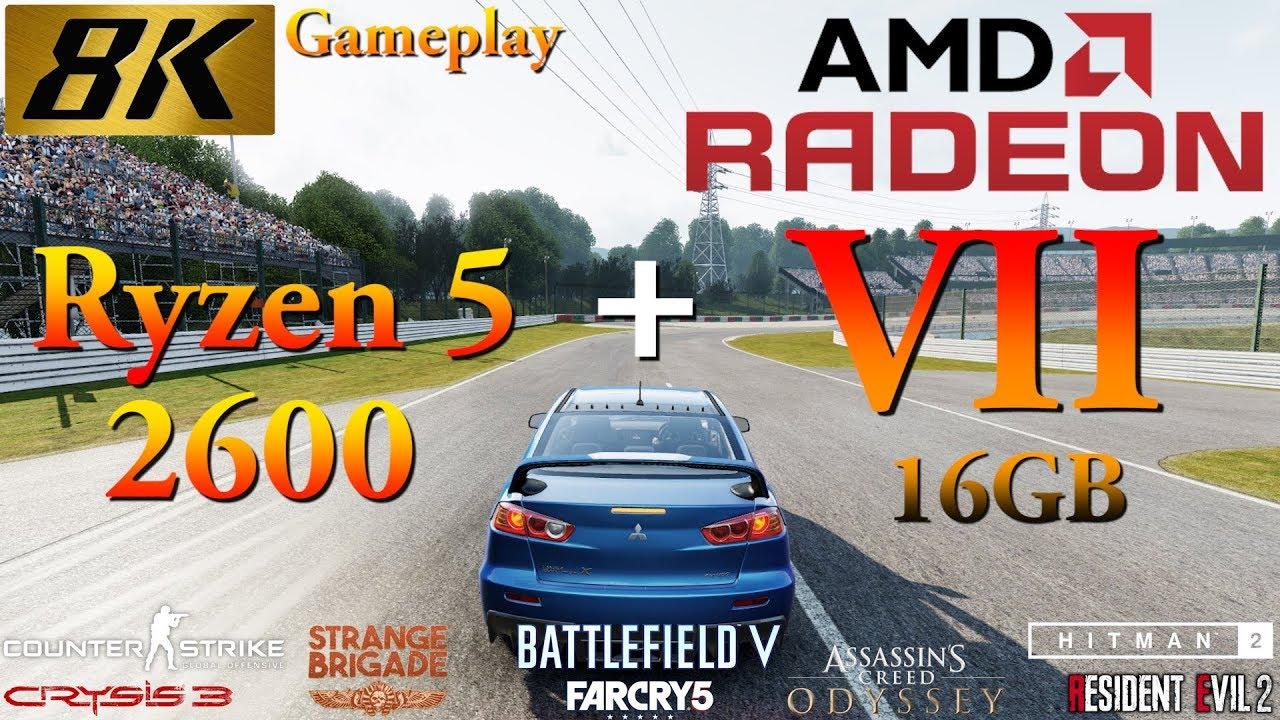 Crysis 3, Resident Evil 2 и другие игры запустили в 8K с высокими настройками графики на топовой видеокарте от AMD — видео
