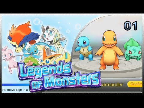LEGENDS OF MONSTERS  POKEMON VS EN INGLES APK NUEVO JUEGO DE POKEMON PARA ANDROID