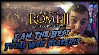The BEST Total War Player?!