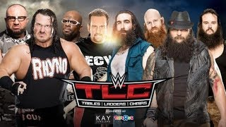 Marquee Matches Reviews (WWE TLC 2015 Tables Match)