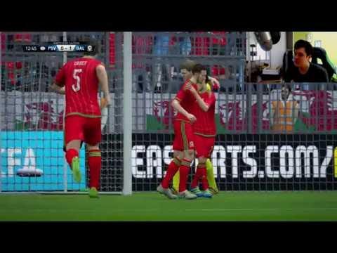 Fifa 16 | Euro 2016 | 1/2 finale | Portugal - Pays de Galles