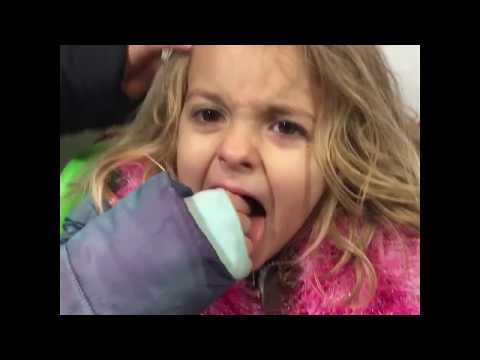 Weather Together Plemmons Family VLOG Surprise Snow Day Ava & Addi Play Puppy Cooper Cat in Stroller