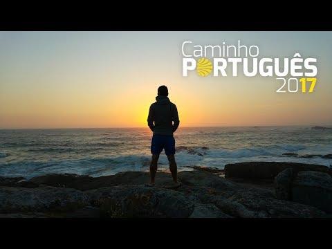 Camino de Santiago - Camino Portugues da Costa 2017