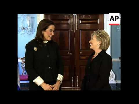 US Sec of State Clinton meets Greek Foreign minister