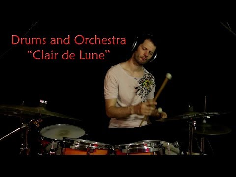 Clair de Lune - Debussy (modern revisitation) Drums and Orchestra Music #10