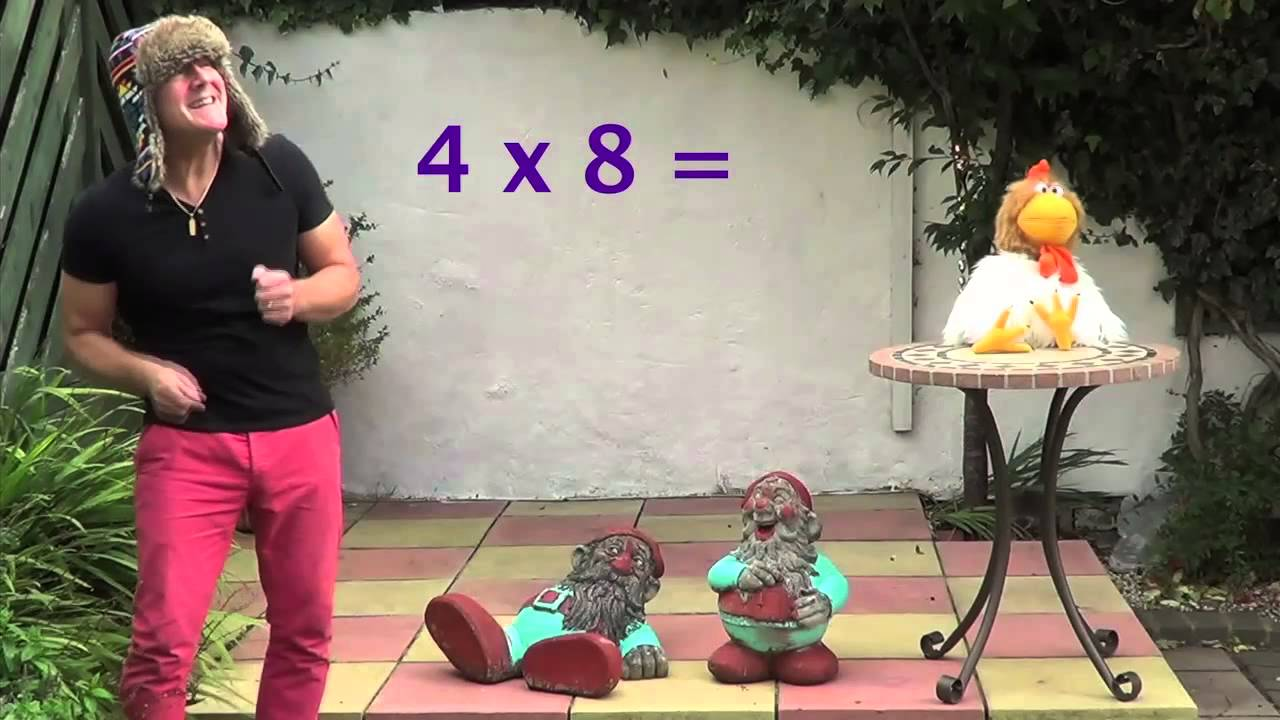 Learn your 8 times table with jingle jeff professor for 12 times table song youtube